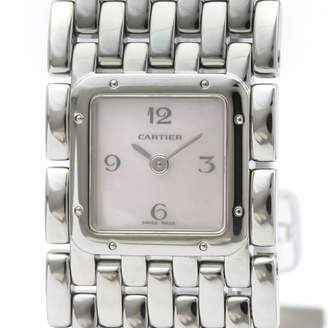 Cartier Panthere Ruban Pink Steel Watches