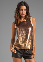 Juicy Couture Sunrise Sequin Top