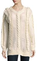 Somedays Lovin Braided Cable Knit Sweater