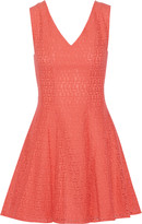 Rebecca Minkoff Auriga crocheted cotton-blend mini dress