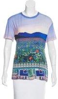Mary Katrantzou Trompe L'Oeil Short Sleeve T-Shirt
