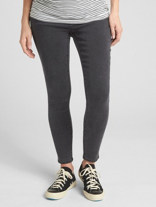Gap Maternity Soft Wear Demi Panel True Skinny Jeans
