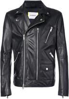 Iceberg zipped biker jacket