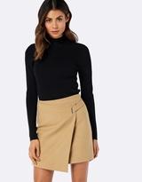 Forever New Grace Wrap Front Skirt