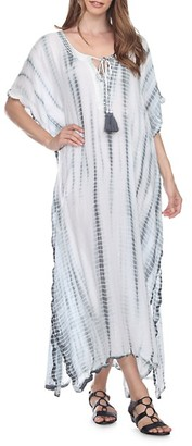 La Moda Clothing Faded Stripe Caftan