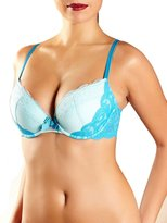 Chantelle Insolite 2522 Underwired Padded Plunge Push Up T-Shirt Lace Bra