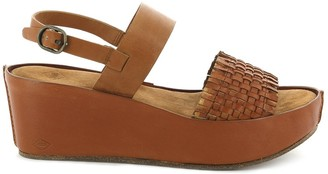 P L D M By Palladium Carnage Leather Wedge Sandals