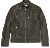 Brunello Cucinelli - Leather Bomber Jacket