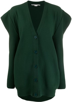 Stella McCartney Structured Shoulder Cardigan