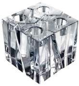 Orrefors 'Klone' Square Crystal Candlestick Holders