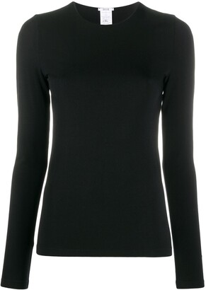 Wolford Crew-Neck Pullover Top