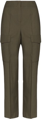 LVIR Summer high-waist cargo trousers