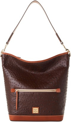 Dooney & Bourke Ostrich Hobo