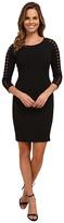 NYDJ Renee Lattice Trim Dress