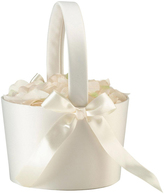 Lillian Rose Large Cream Flower Girl Basket