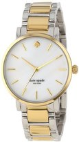 Kate Spade Women's 1YRU0005 Gramercy Two-Tone Bracelet Watch