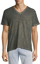 True Religion Faded Slub V-Neck T-Shirt