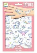 Djeco Unicorns Tattoo Pack