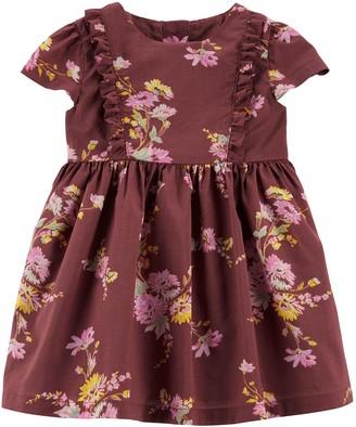 Osh Kosh Oshkosh Bgosh Baby Girl Ruffle Floral Dress