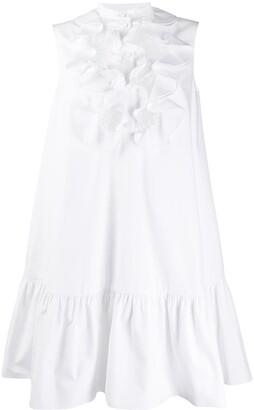 Alexander McQueen Ruffled Yoke Dress