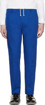 Oamc Blue Chino Trousers