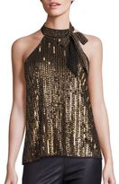 Parker Theia Sequined Top