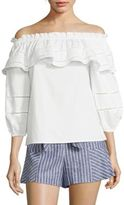 Parker Kiara Off-the-Shoulder Blouse