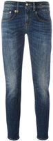 R 13 bootcut cropped jeans