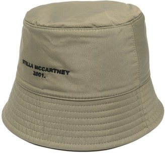 Stella McCartney Reversible Logo-Embroidered Bucket Hat