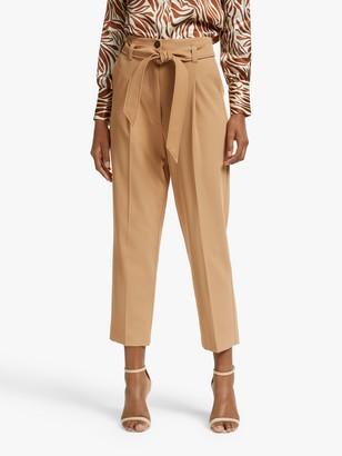 Marella Isador High Waist Trousers, Camel