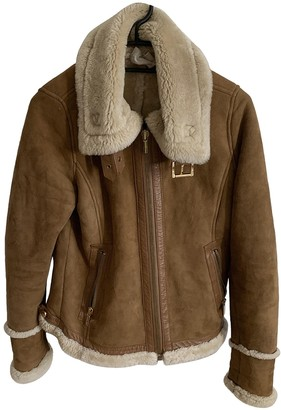 Michael Kors Brown Shearling Coats