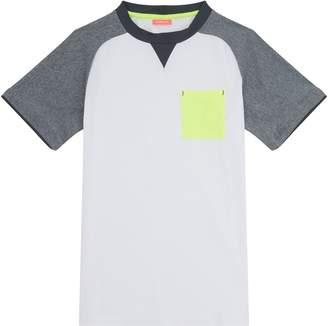 Sunuva Contrast Pocket Short Sleeve Rash Vest