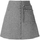 J.W.Anderson houndstooth a-line skirt