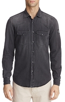 Belstaff Someford Denim Button-Down Long Sleeve Shirt