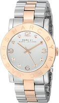 Marc by Marc Jacobs Women's MBM3194 Amy Two-Tone Stainless Steel Watch with Link Bracelet