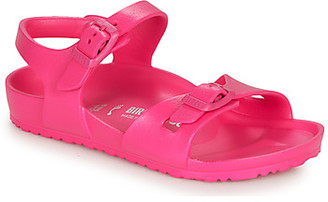 Birkenstock RIO EVA girls's Sandals in Pink