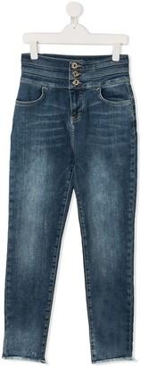 Twin-Set TEEN high waisted jeans