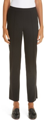 PARTOW Side Slit Skinny Pants