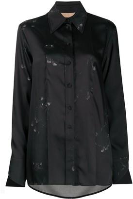 Ssheena Cat Print Shirt