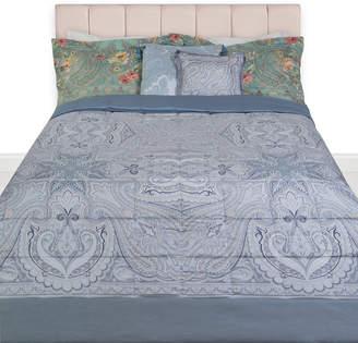 Etro Hokkaido Oki Quilted Bedspread - Grey/Silver