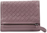 Bottega Veneta Purple Leather Wallets