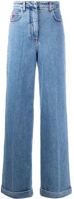 Philosophy di Lorenzo Serafini High Rise Wide Leg Jeans