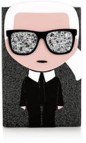 Karl Lagerfeld K/ikonik Minaudiere Bag-black