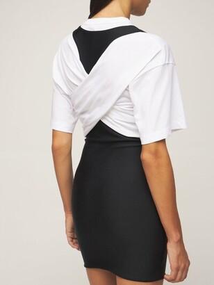 Alexander Wang T-Shirt Hybrid Mini Dress