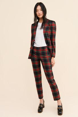 Lauren Ralph Lauren Amin Straight Plaid Pants