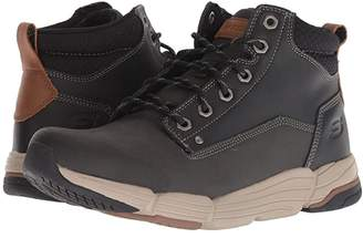 Skechers Relaxed Fit Metco Atmore Boot (Black) Men's Shoes