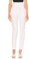Alexandre Vauthier Japanese Crepe Trousers in Pink.
