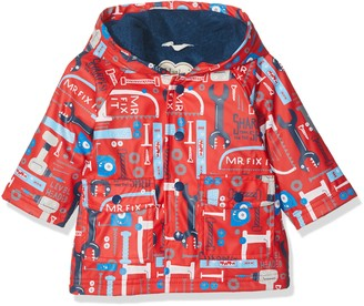 Hatley Baby Boys Mini Printed Raincoat Long Sleeve Raincoat