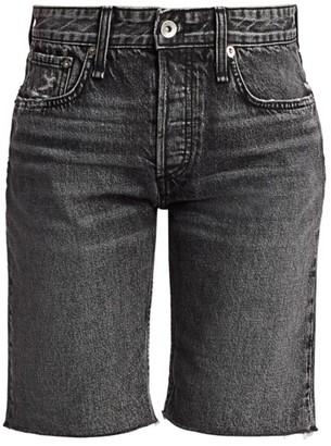 Rag & Bone Rosa Mid-Rise Denim Walking Shorts