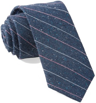 Tie Bar Longway Stripe Blue Tie